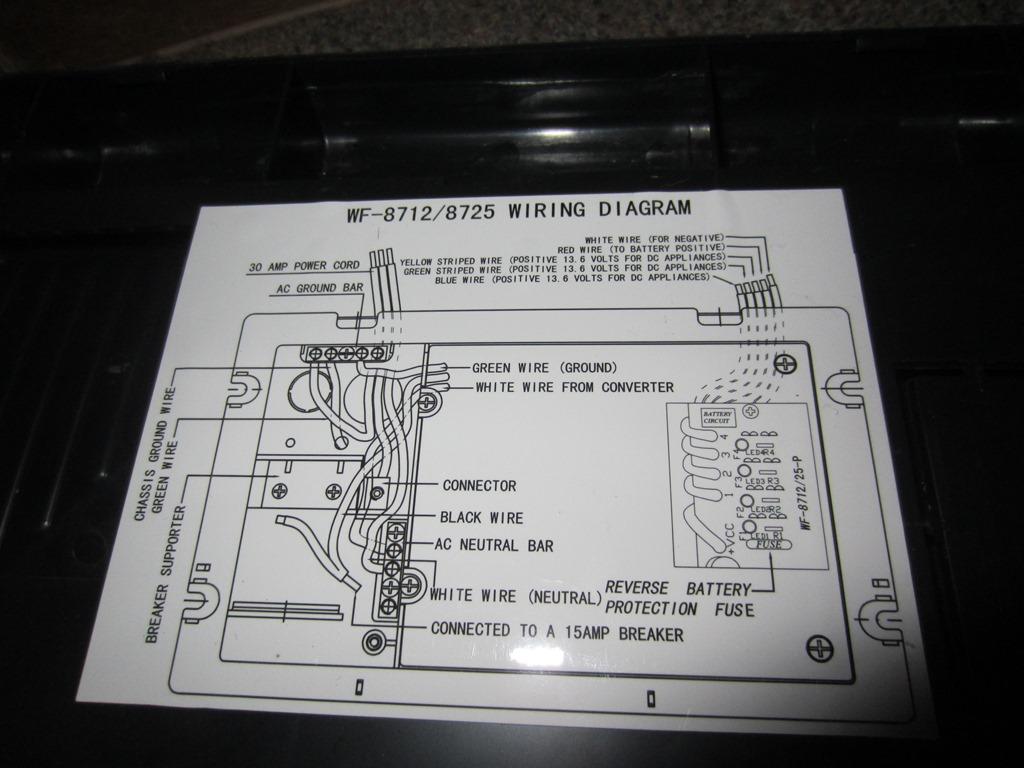 Wfco 8725 Wiring Diagram