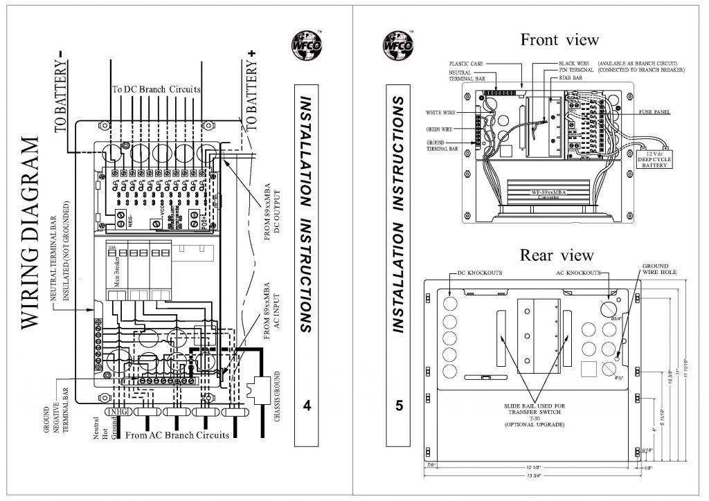 Wfco 8725 Wiring Diagram