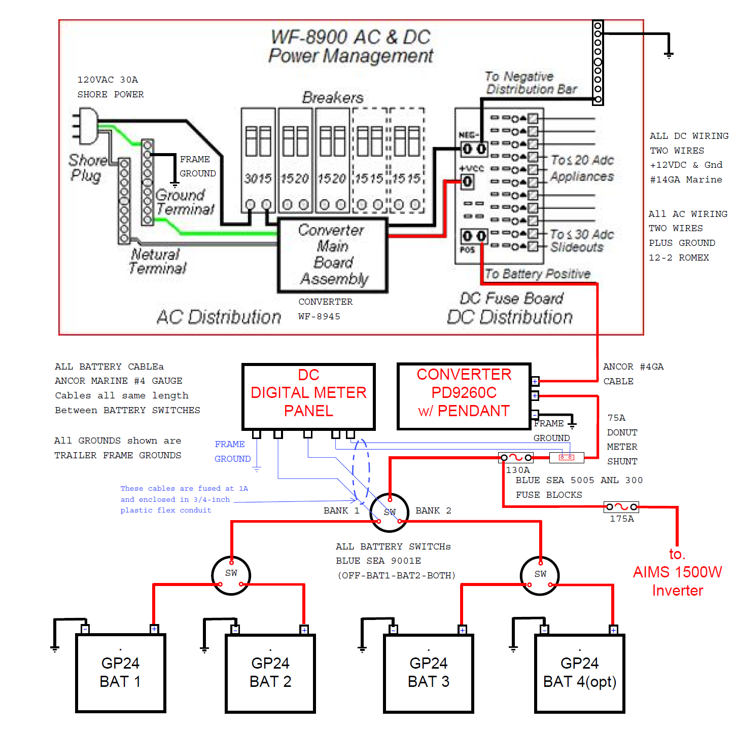 Wfco Power Converter Wiring Diagram from diagramweb.net