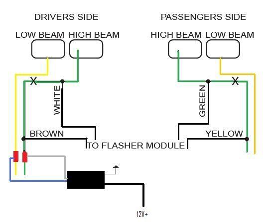 Whelen Headlight Flasher Wiring Diagram