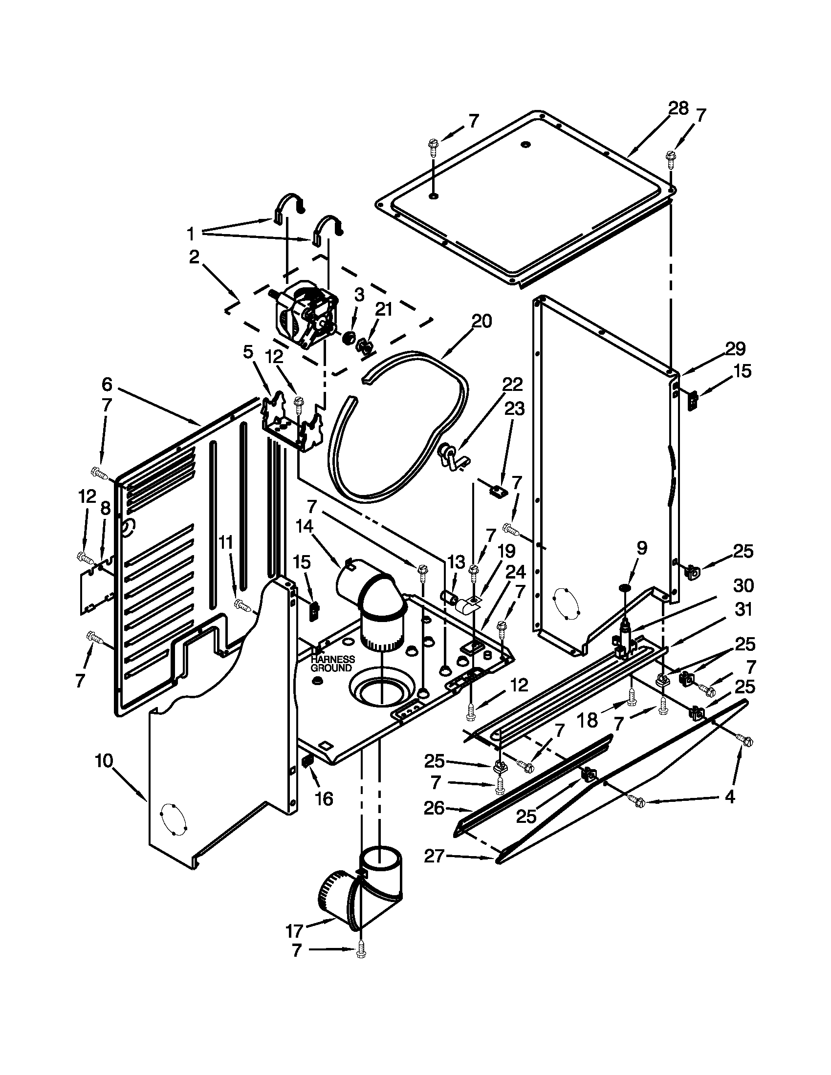 Maytag Dryer Parts Diagram Also Kenmore Electric Dryer Wiring Diagram
