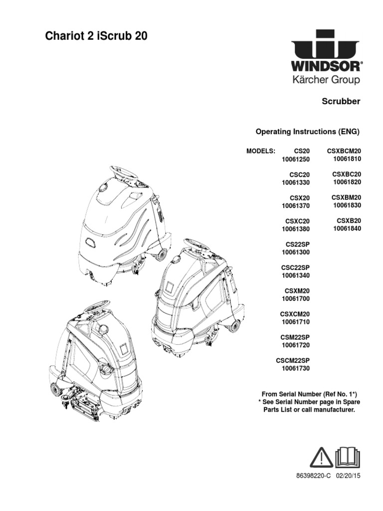 Windsor Chariot 2 Iscrub 20 Wiring Diagram On Board Charger