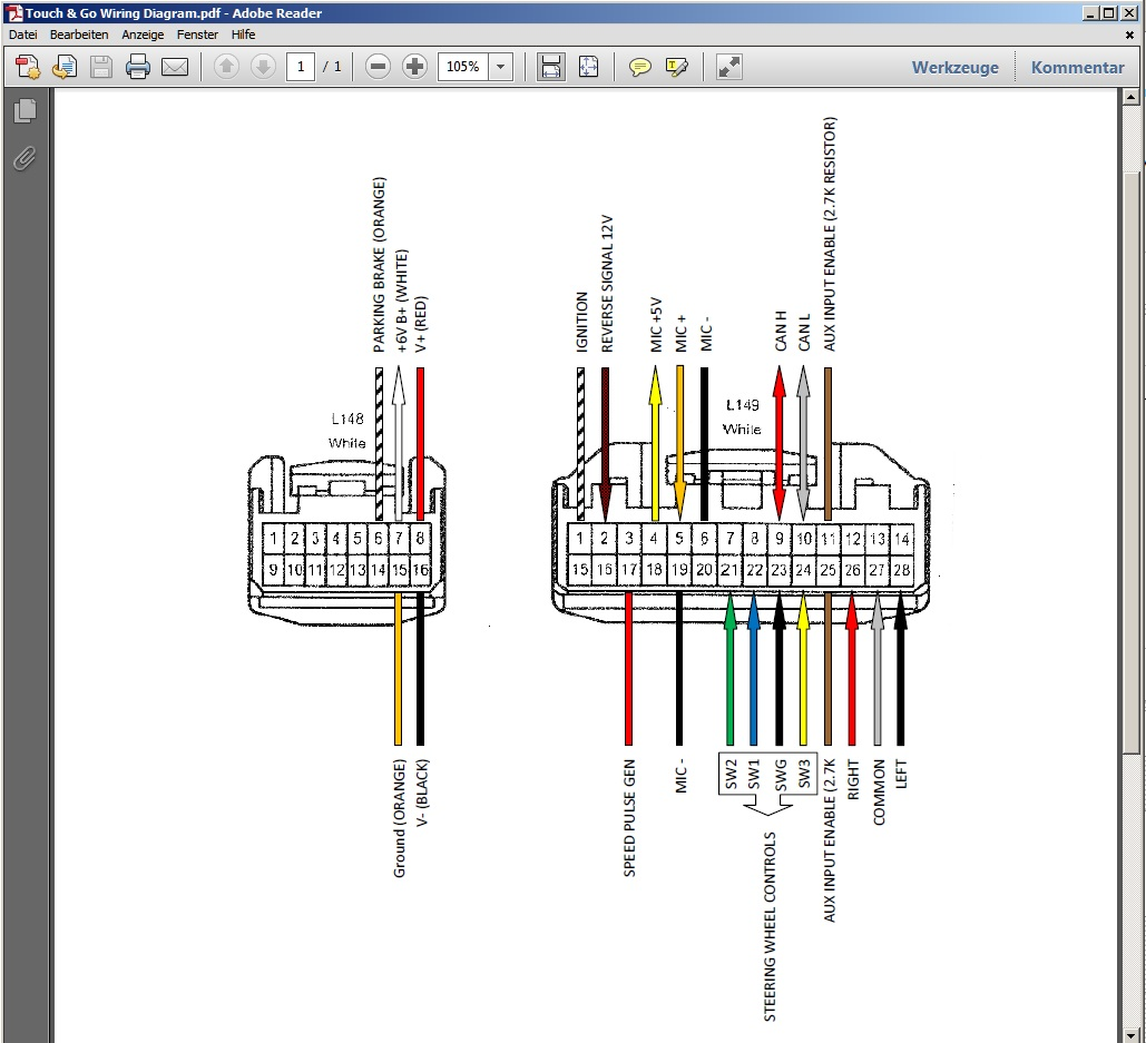 Wiring Diagram For 2003 Honda Goldwing