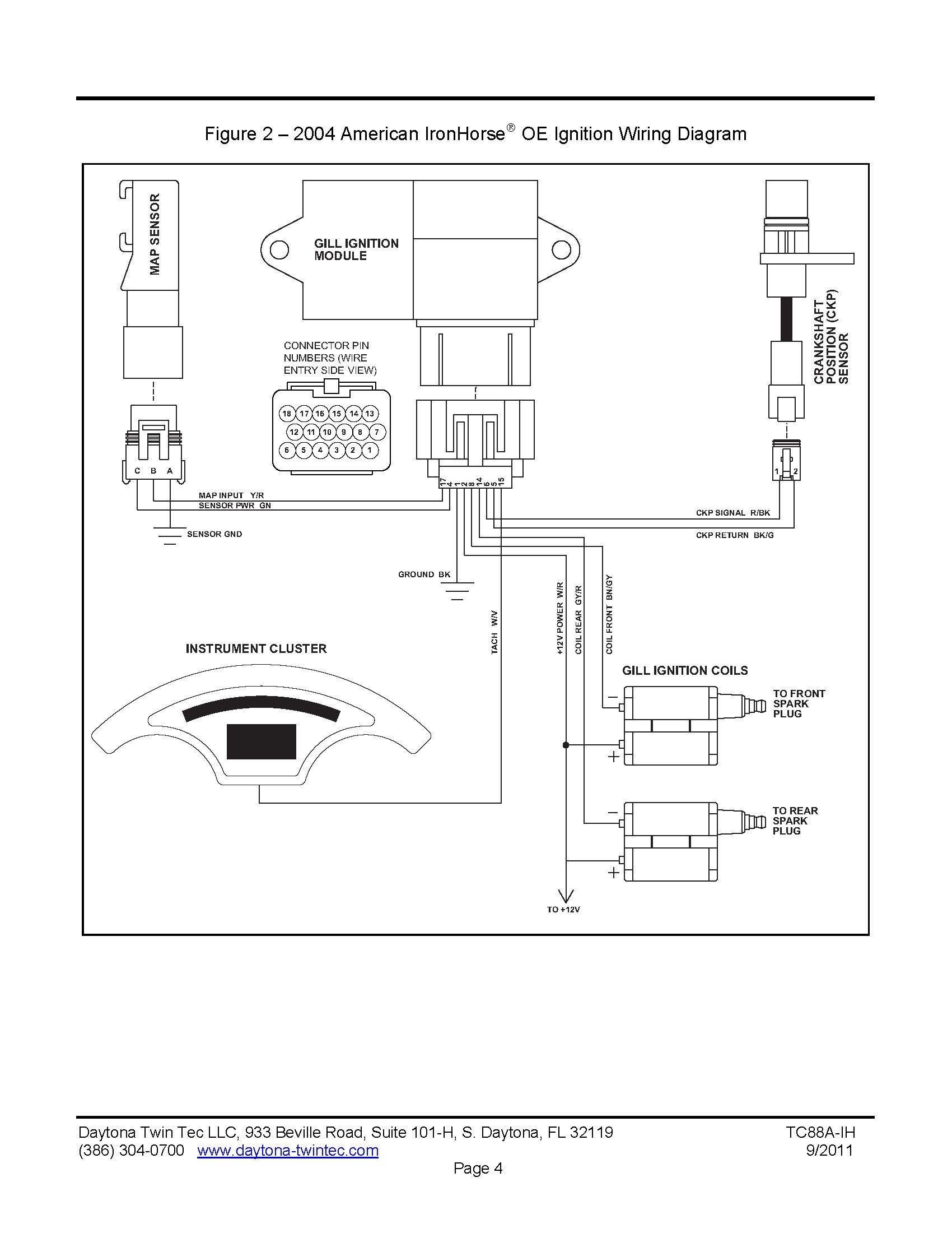 Wiring Diagram For 2003 Texas Ironhorse Motorcycle