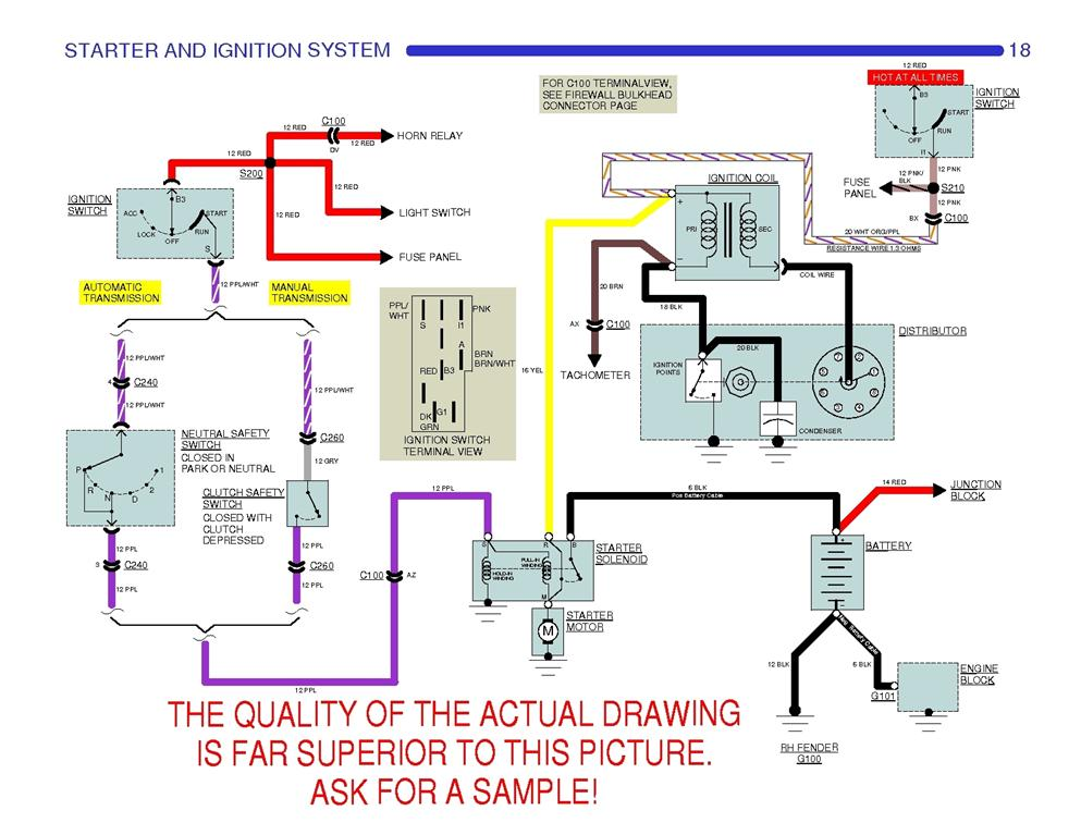 Wiring Diagram For 94 Camaro 5 7 Ignition Switch To Coil