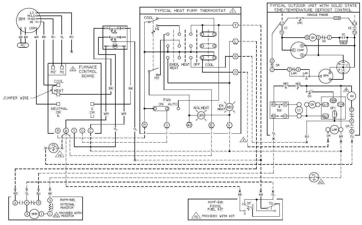 Wiring Diagram For Intertherm Mobile Home Air Handler With ...