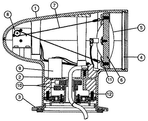Wiring Diagram For Itt Model 60080-0012 Light on