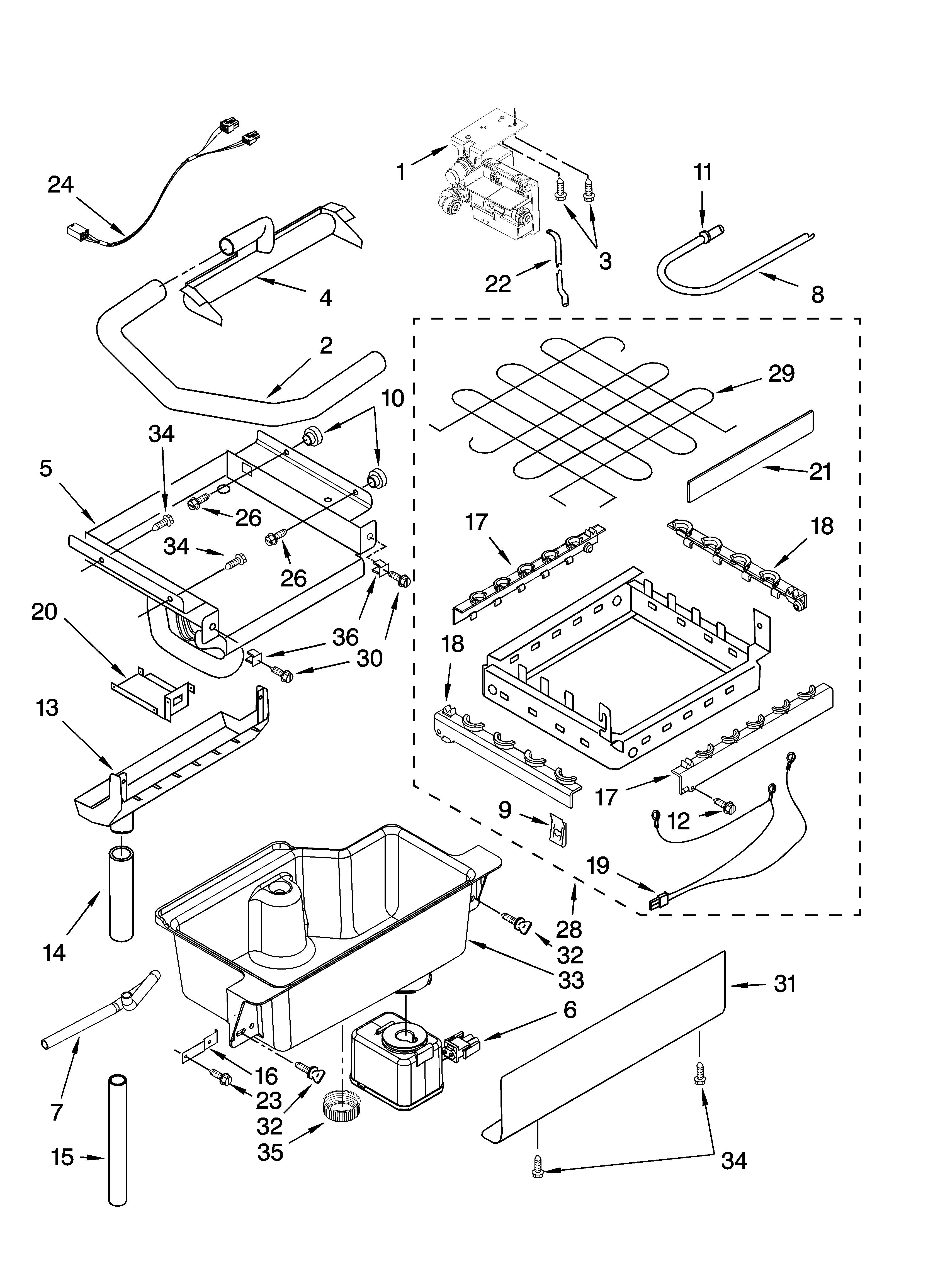 Wiring Diagram For Kitchenaid Ice Maker