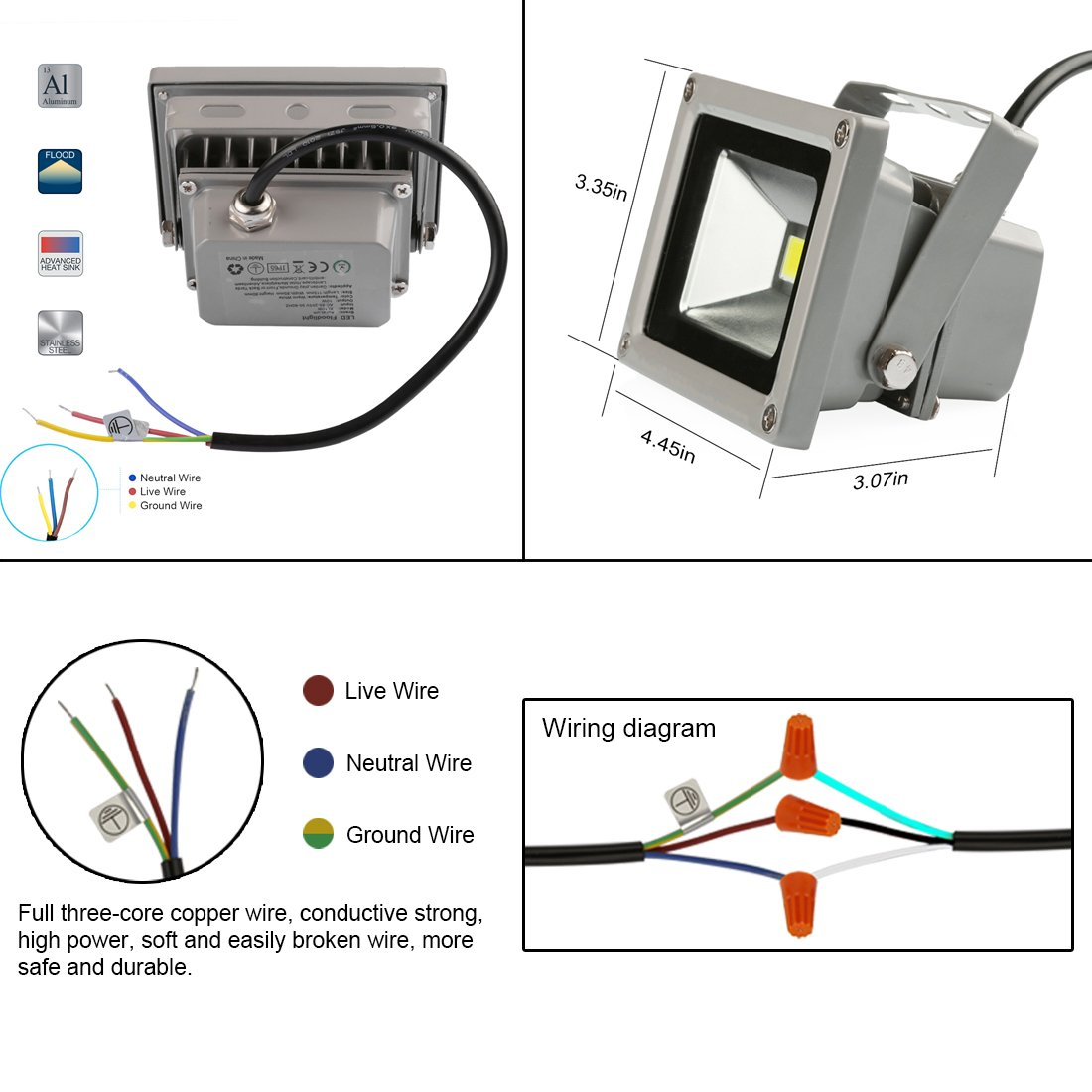 Wiring Diagram For Laykor Led Floodlight