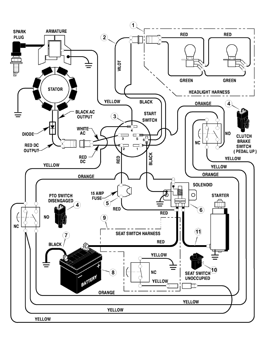 Wiring Diagram For Troy Bilt 13av60kg011