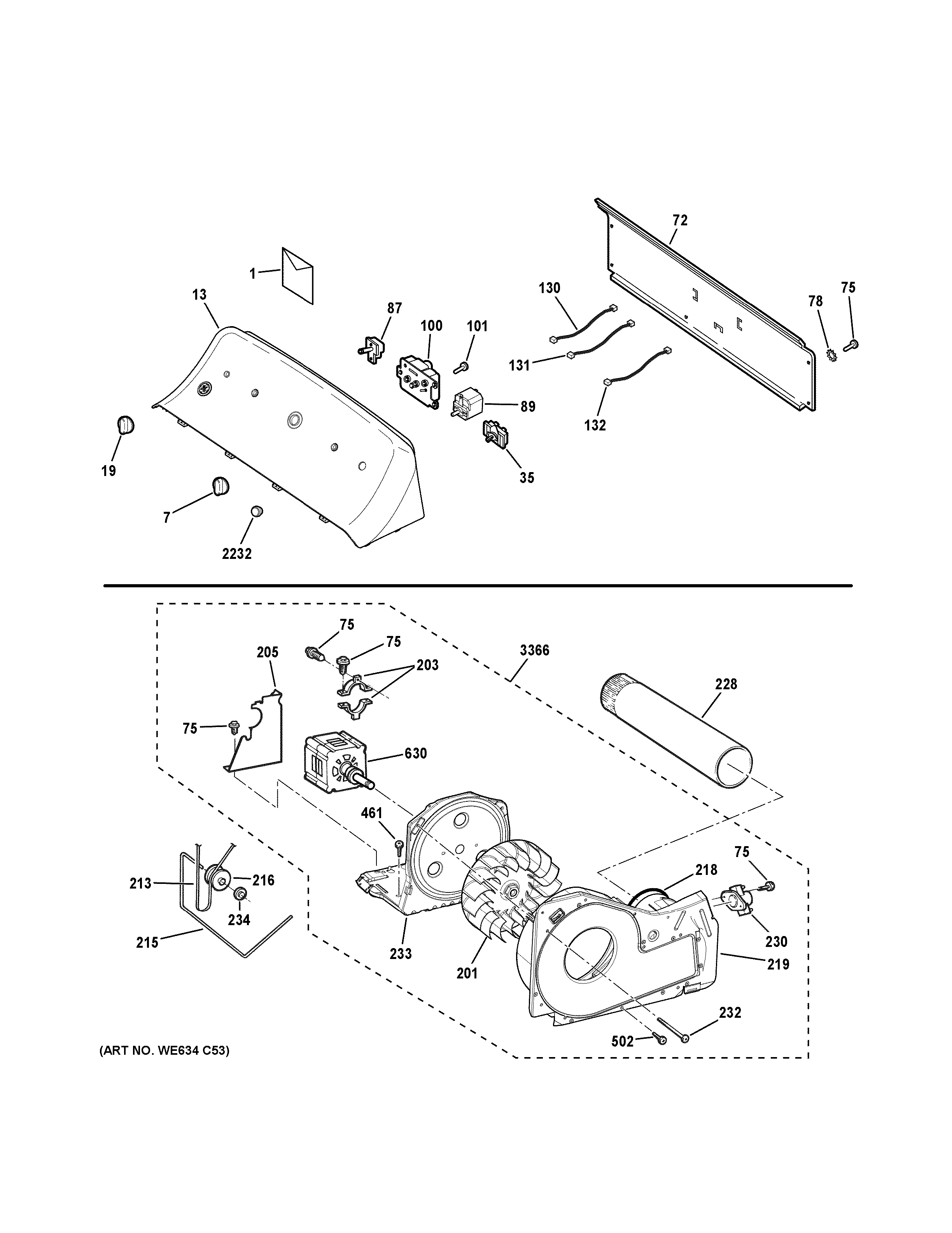 Wiring Diagram Ge Dryer Model Gtd33eask0ww
