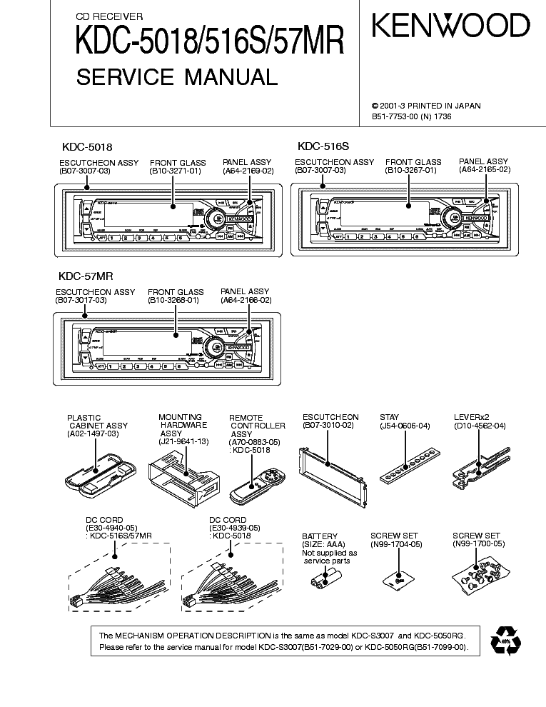 Wiring Diagram Kenwood Dnx574s