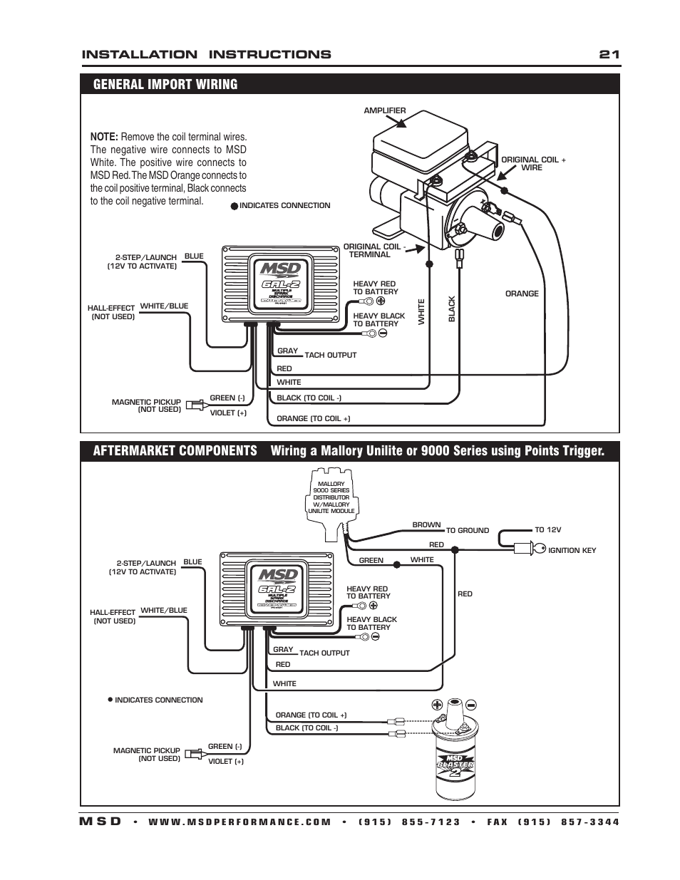 Mallory Unilite Wiring Diagram from diagramweb.net