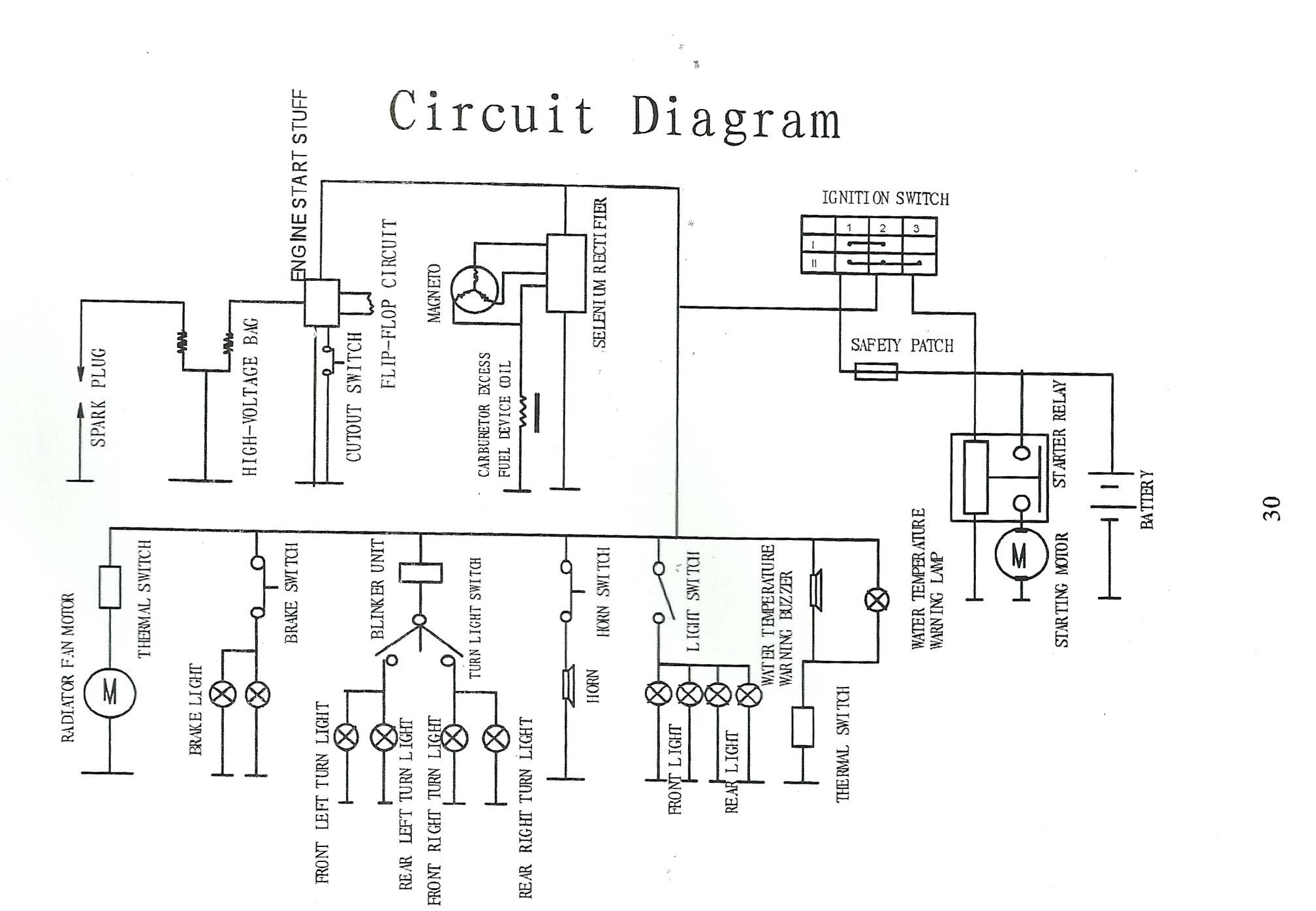 X15 Pocket Bike Wiring Diagram
