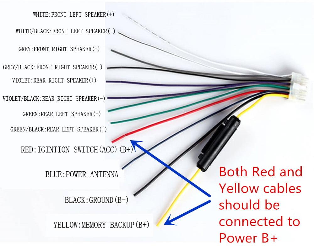 Xo Vision X358 Wiring Diagram