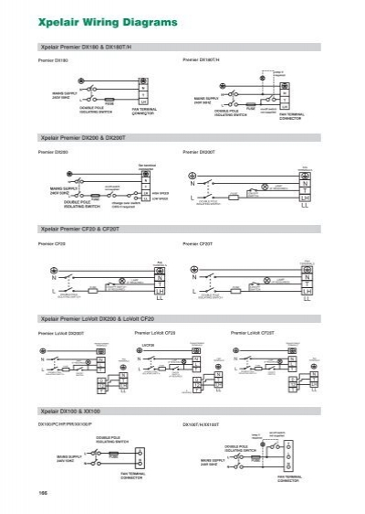 Xpelair Wiring Diagram