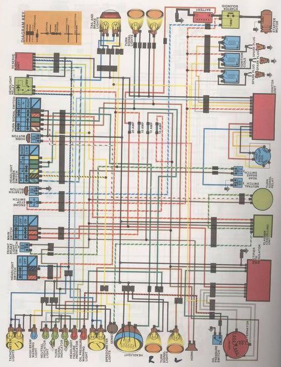 Yamaha Xs750 Wiring Diagram
