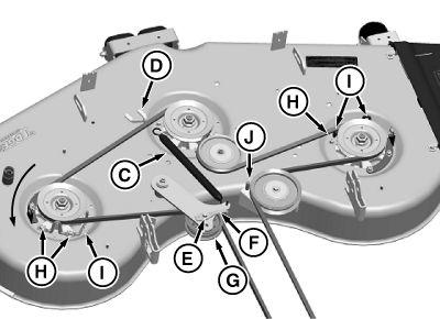 z425 belt diagram
