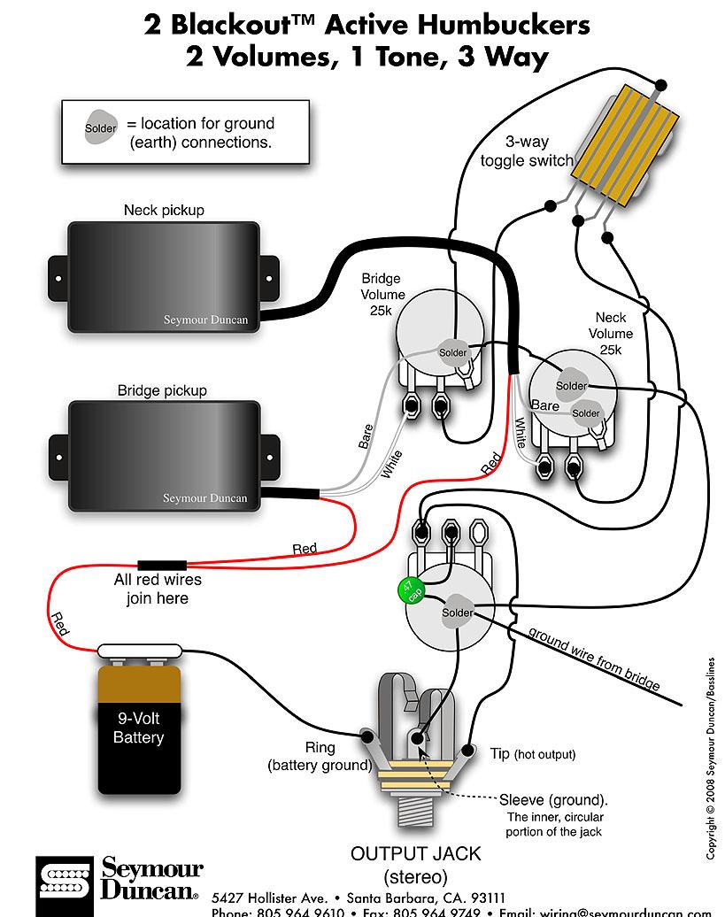 Zakk Wylde Emg Pickup Wiring Diagram