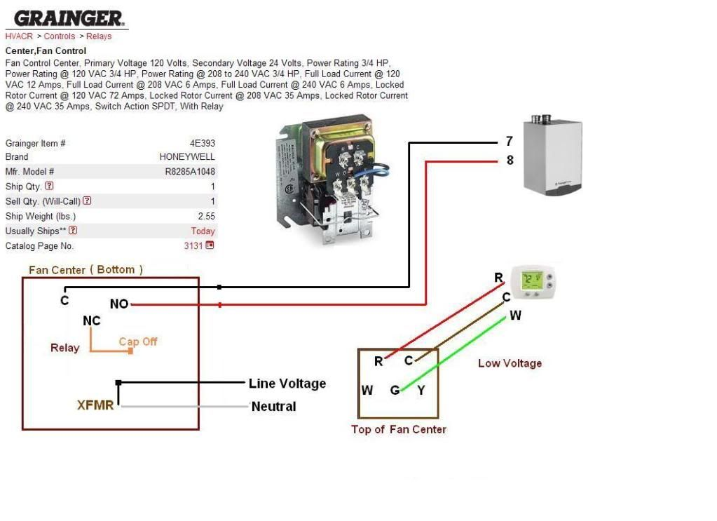 Zettler 90113 Fan Center Wiring Diagram